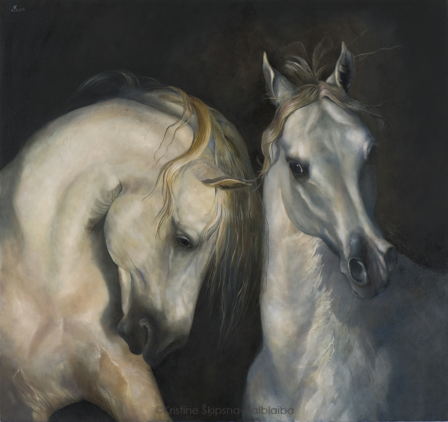 Friendship, 110x117cm, oil on canvas, 2011 (Sold)